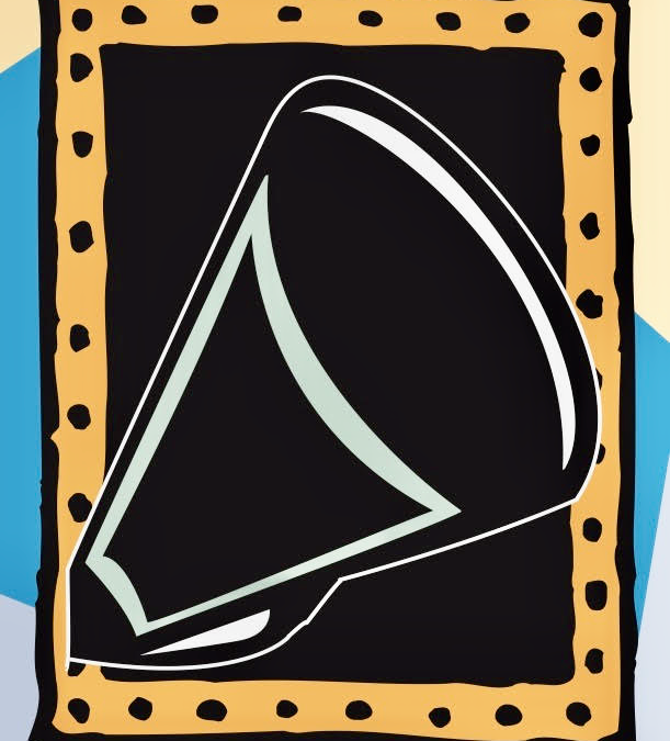 A megaphone illustrating a post on opinion and persuasive writing