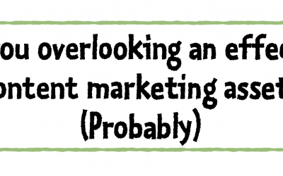 Broaden your view of content marketing
