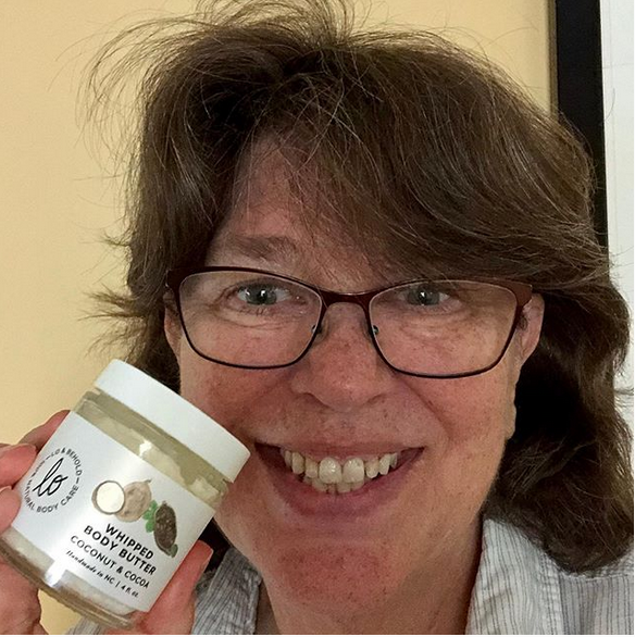 Margot Lester of The Word Factory loves Lo & Behold's hand cream.