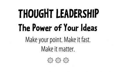 How to write thought leadership content