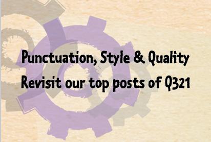 Write better content: commas, voice & quality
